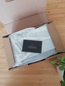 emballage de l'orchidée structurée