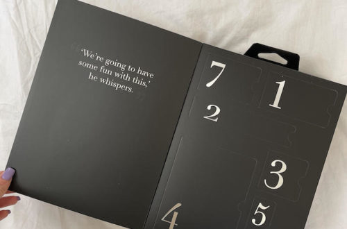 calendrier fifty Shades of grey